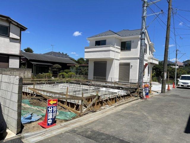 【外観】ラグラス狛江 新築2階建 大型4LDK 車庫2台可