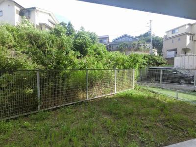 開放感溢れる専用庭です。
