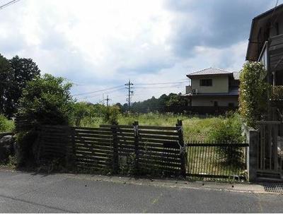 【外観】左京区修学院檜峠町 建築条件無し 売土地