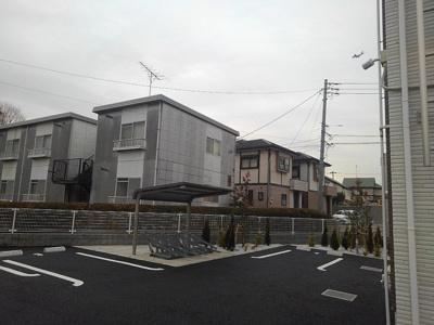 【駐車場】ティータウンⅠ