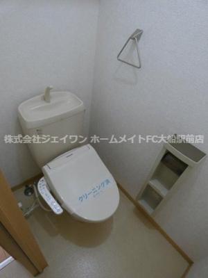【トイレ】大地原ハイツⅥ