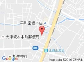 【地図】ウエストパレスヒエイ