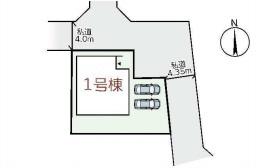 【区画図】リーブルガーデンS天理市田部町3期