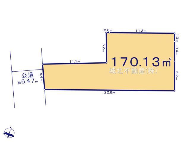 土地面積170.13㎡(51.46坪)