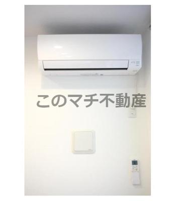 エアコンになります。別号室の写真になります。現況優先。