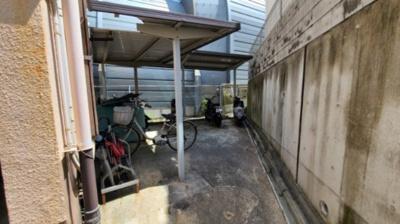 駐輪場☆神戸市垂水区 セオ・コート高丸☆