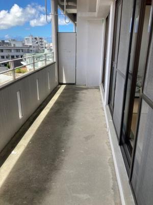 【バルコニー】メゾンYOSHINAGA