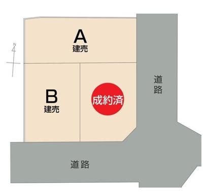 【全3区画のB号地】カースペース2台分有り(車種による)!物件に関するお問い合わせはお気軽にどうぞ♪