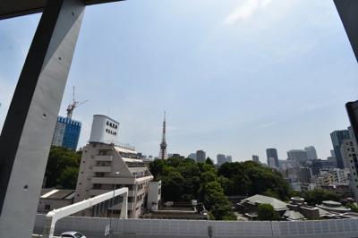 【展望】デザイナーズ天井高く東京タワーが見える部屋 ZOOM六本木