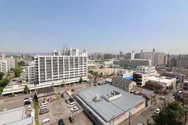 11階バルコニーからの眺望