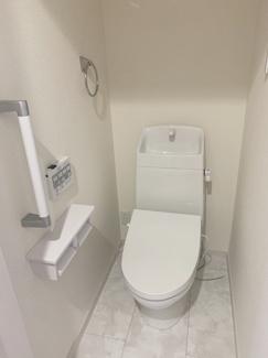【建物プラン例/トイレ】 お色・素材お好きなものをお選びいただけます!モデルハウスご見学受付中♪