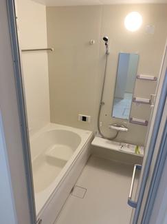 【建物プラン例/浴室】 お色・素材お好きなものをお選びいただけます!モデルハウスご見学受付中♪