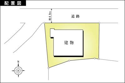 【区画図】湯河原町宮下 全4室賃貸併用住宅