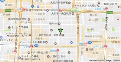【地図】ブラービ南船場