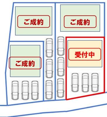 【区画図】宜野湾市嘉数
