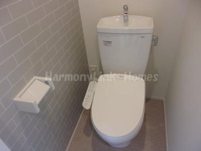 ハーモニーテラス志茂XVの落ち着いたトイレです☆