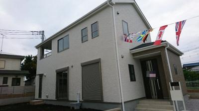 【外観:施工例】高崎市貝沢町新築住宅第15 ①