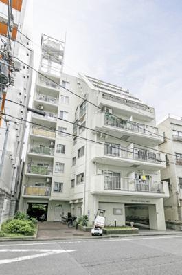 【外観パース】ライオンズマンション日暮里第2