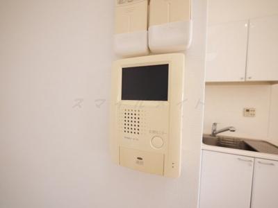 来訪者のわかるTVモニターフォン付きです。