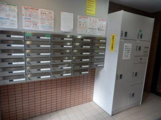 集合ポストと宅配BOX