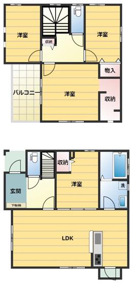 【外観】サンコート宇部市東須恵3号地 新築戸建