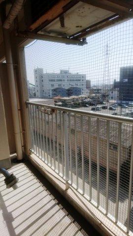 【バルコニー】キャンパスシティ箱崎