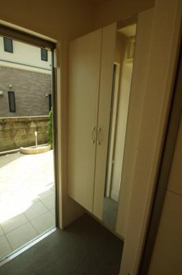 シューズBOX付き玄関スペース