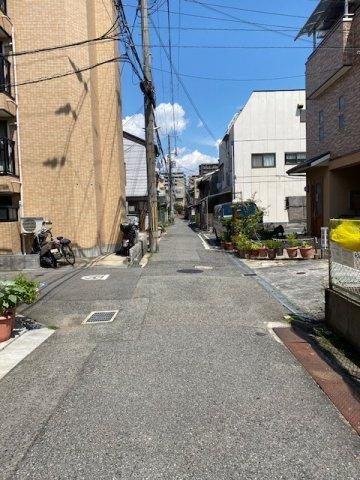 【前面道路含む現地写真】グラファーレ尼崎・西本町北通
