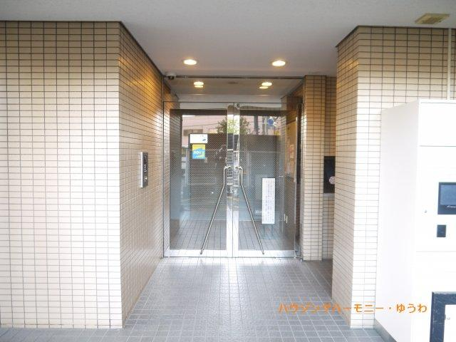 【エントランス】サンマンションアトレ大山