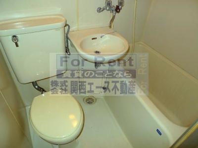 【浴室】エルバハイツ│収納大きめの1K!近大も近く学生さんオススメです│