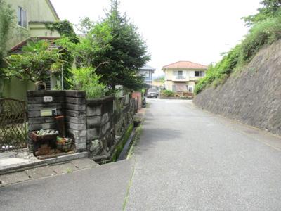 【前面道路含む現地写真】神戸市北区筑紫が丘9丁目 売り土地