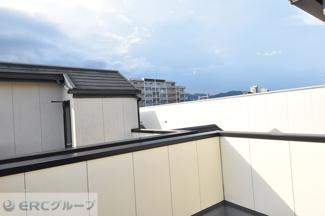 屋上ルーフバルコニー北側眺望♪