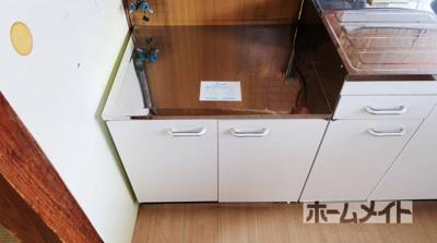 【キッチン】昭和台ハイツ ホクセツハウス株式会社