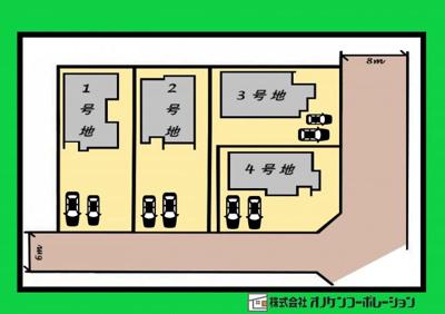 【区画図】タマタウン 加東喜田Ⅱ