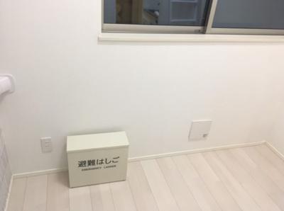【寝室】ソレイユ南長崎