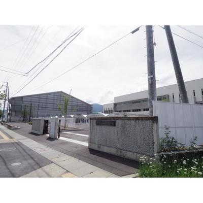 中学校「千曲市立戸倉上山田中学校まで1405m」