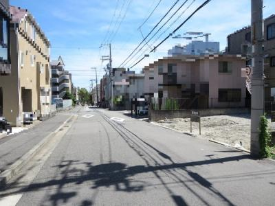 【前面道路含む現地写真】深田町新築戸建 A号地