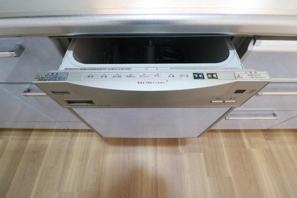 食器洗浄乾燥機付きでママの家事をお手伝い♪