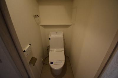 【トイレ】圧倒的に天井が高いロフト付きデザイナーズ プライムアーバン芝浦LOFT