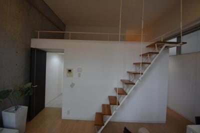 【洋室】圧倒的に天井が高いロフト付きデザイナーズ プライムアーバン芝浦LOFT