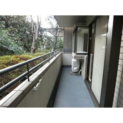 【バルコニー】京西上目黒ガーデン