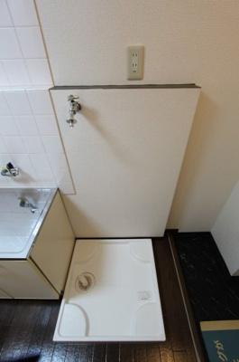 洗濯機置場 写真は参考です