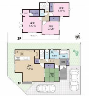 神戸市西区学園東町7丁目 新築戸建て 2区画