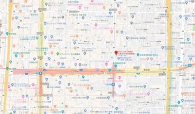 【地図】大一フロント