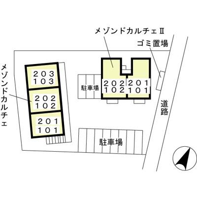 【区画図】メゾン・ド・カルチェ