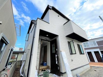 【外観】練馬区貫井5丁目 新築分譲住宅全2棟