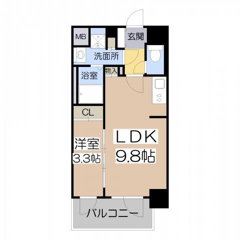 サムティ阿倍野昭和町 1LDK 33.97㎡