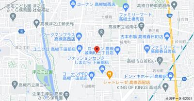 【地図】下田部テラスハウス