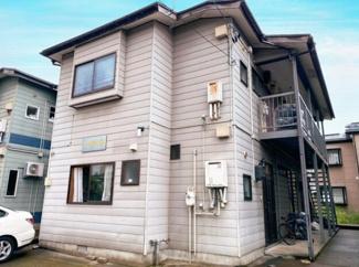 【外観】《満室!木造14%》長岡市長峰町一棟アパート