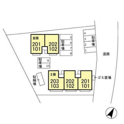 【区画図】アベニューヴィラ Ⅰ